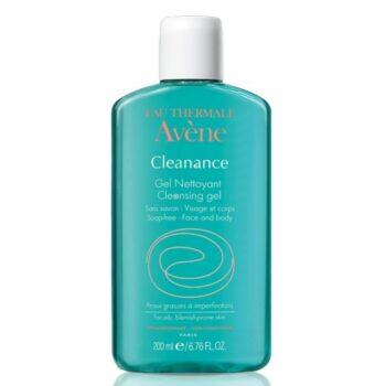 Avene Cleanance Gel Καθαρισμού Nettoyant, Καθαρισμός Προσώπου για Λιπαρά Δέρματα