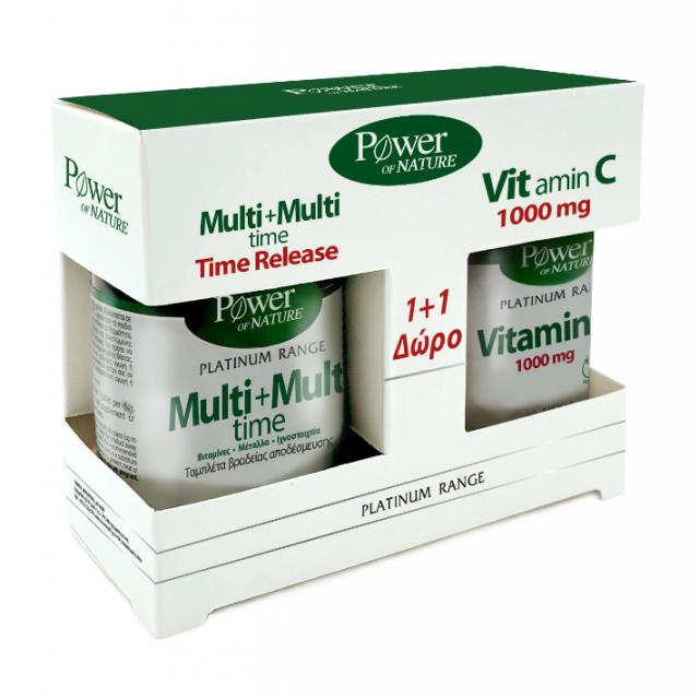 Power Health Classics Platinum Range Multi+Multi Time